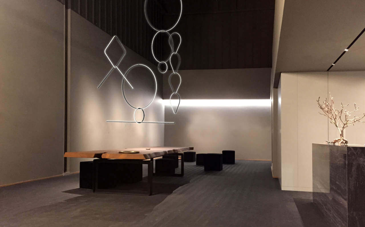 Lampada Arrangements Flos - Devincenti negozio arredamento e design Mantova