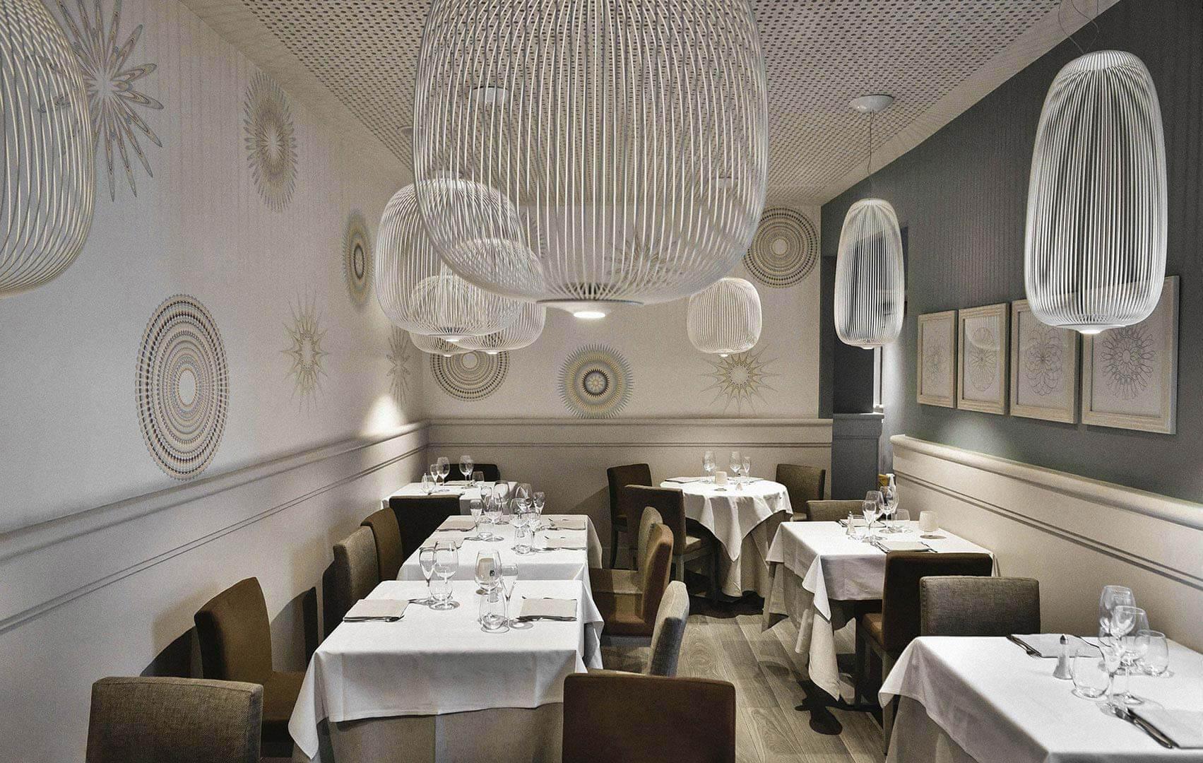 Foscarini Spokes - Devincenti negozio di arredamento e design Mantova