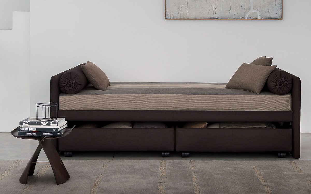Groovy Duetto Sofa Bed By Flou Interior Design Ideas Clesiryabchikinfo