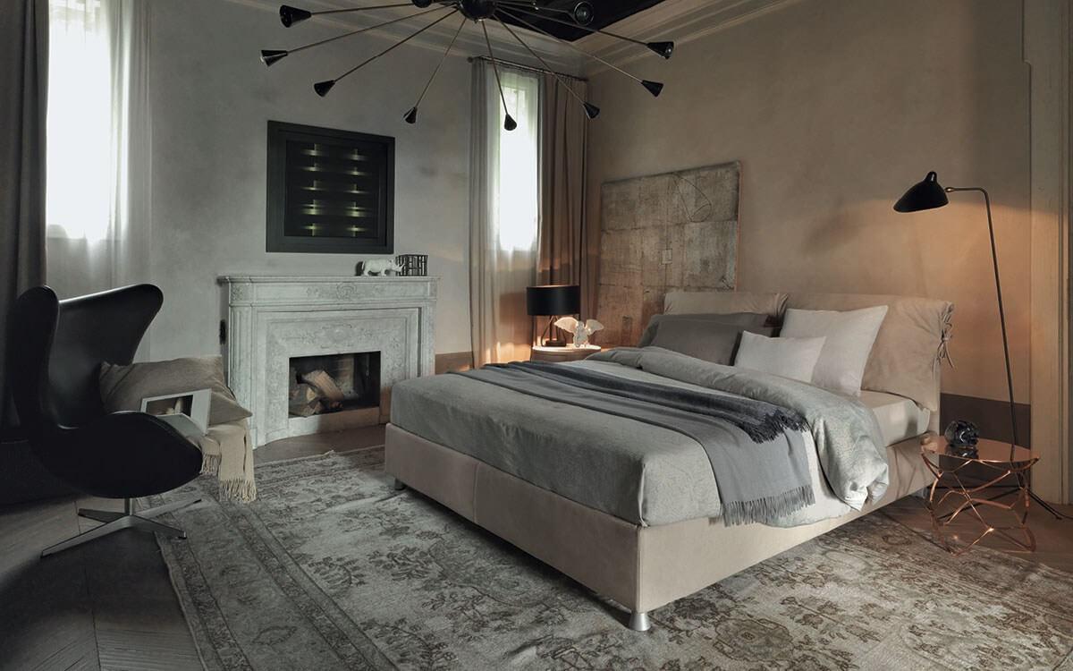Letto Nathalie Flou - Devincenti negozio arredamento e design Verona