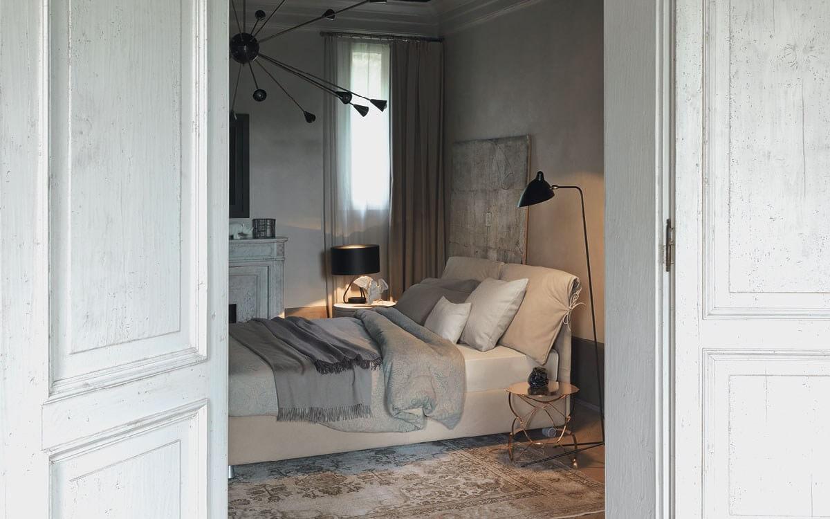 Letto Nathalie Flou - Devincenti negozio arredamento e design Mantova