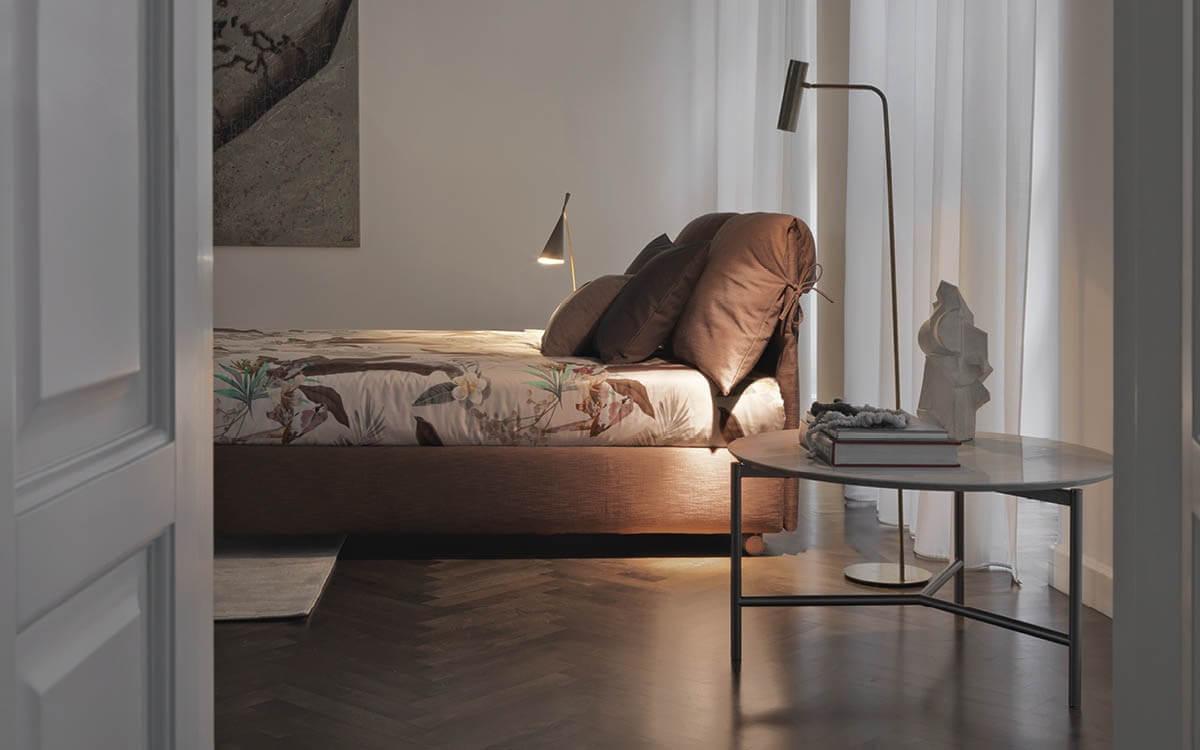Letto Nathalie Flou - Devincenti negozio arredamento e design Brescia