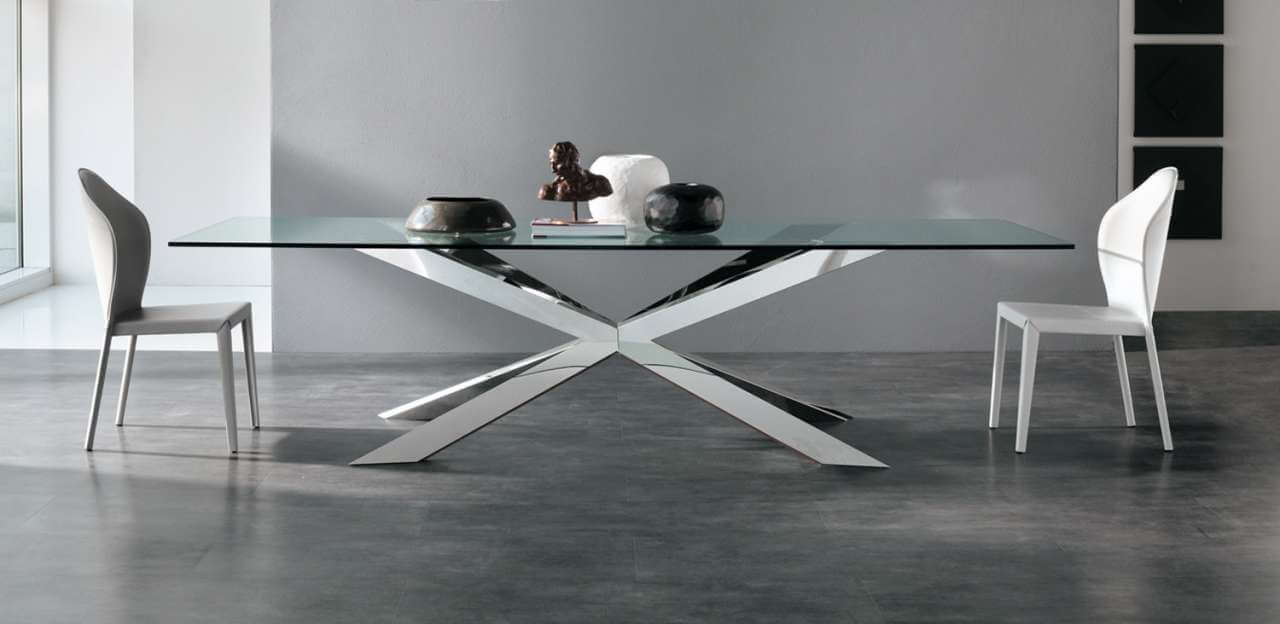 Tavolo Spyder Glass Cattelan - Devincenti negozio arredamento e design Verona