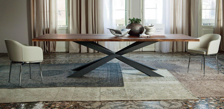 Tavolo Spyder Wood Cattelan - Devincenti negozio arredamento e design Mantova