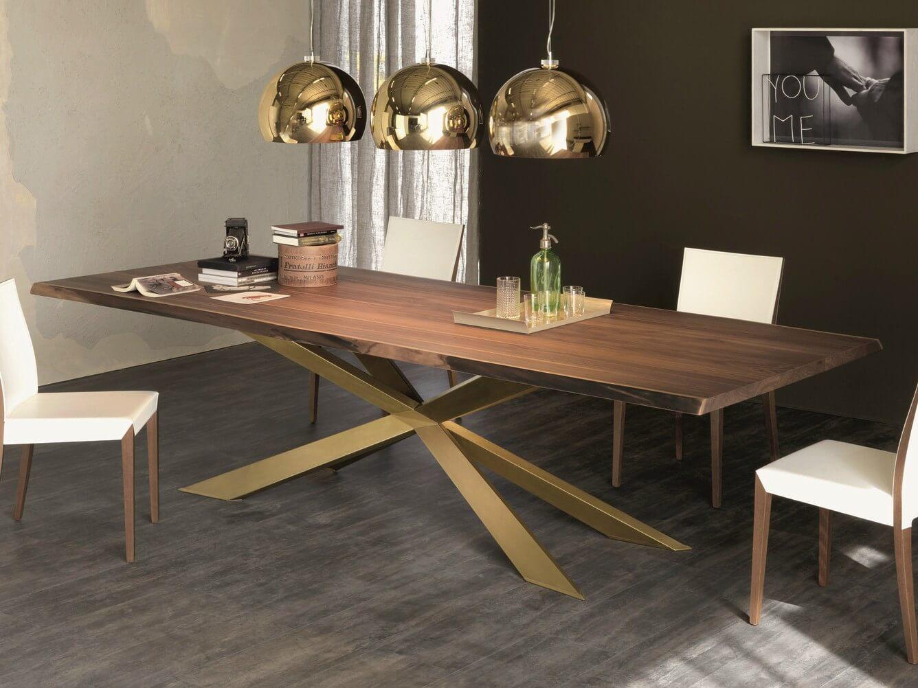 Tavolo Spyder Wood Cattelan - Devincenti negozio arredamento e design Brescia