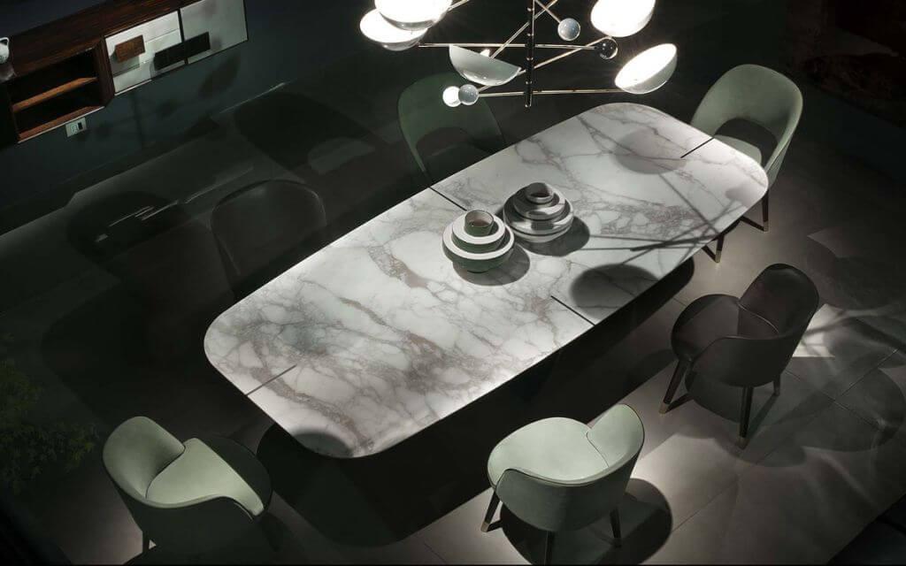 Tavolo Marmo - Devincenti negozio arredamento e design Brescia