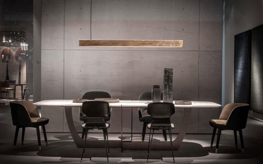 Tavolo Romeo di Baxter 6 posti - Devincenti negozio arredamento e design Mantova