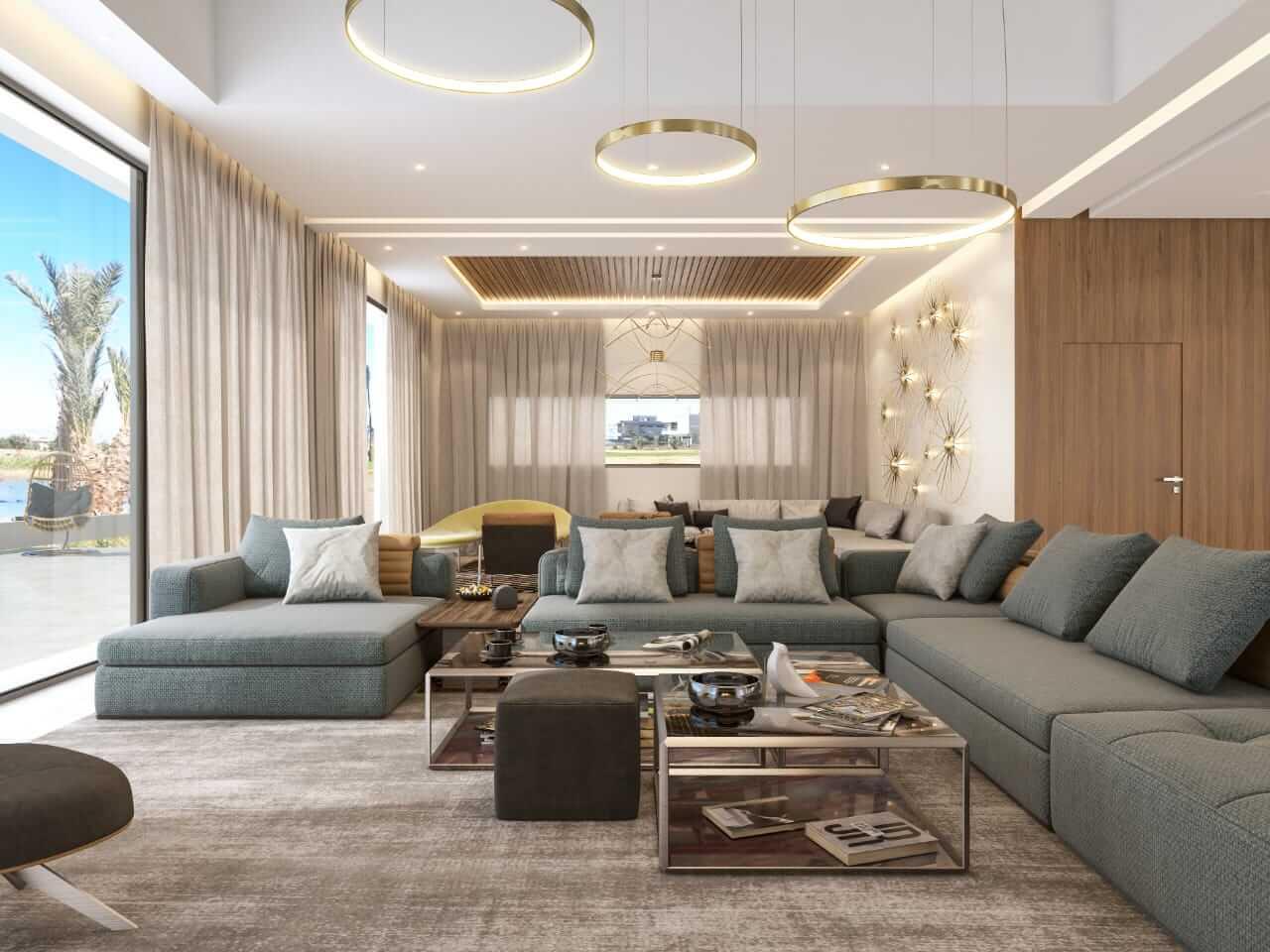 Salotto luminoso - Devincenti negozio arredamento e design Brescia