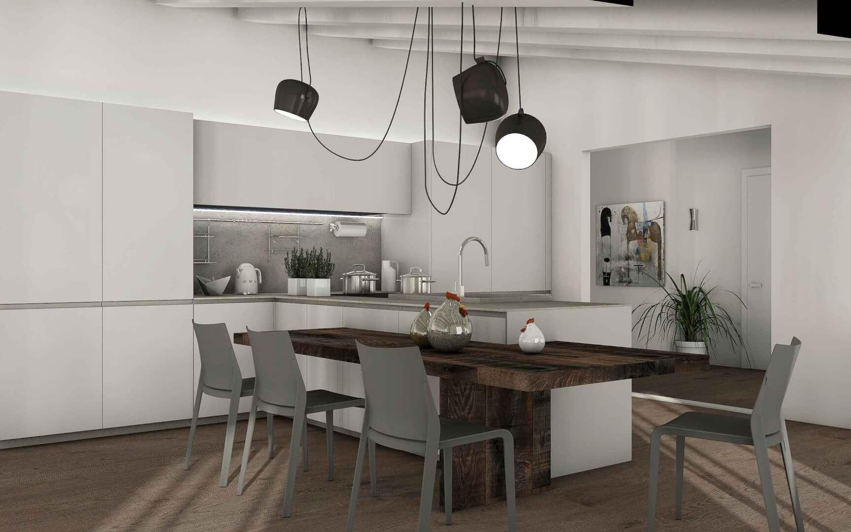 Cucina Devincenti Multiliving - negozio arredamento Mantova