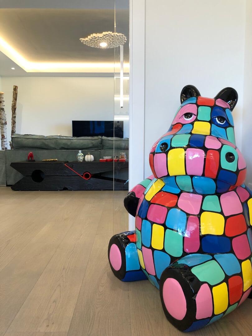 Ippopotamo colorato - Devincenti negozio arredamento Mantova