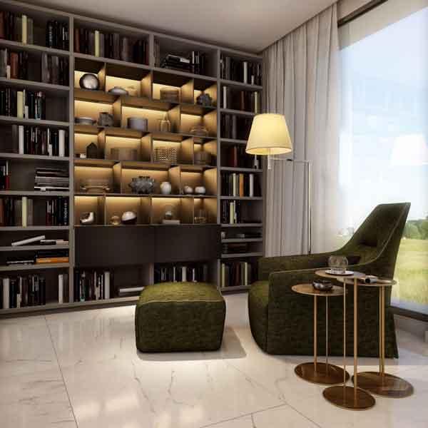 Poltrona libreria - Devincenti negozio arredamento Brescia